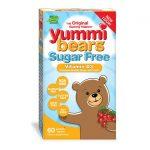 Hero Nutritionals Yummi Bears Sugar Free Vitamin D3 – Cherry 1,000 Iu 60 Gummies Bone Health