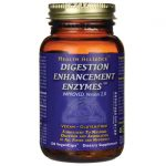HealthForce Nutritionals Digestion Enhancement Enzymes 120 Vegan Caps Digestive Health and Fiber
