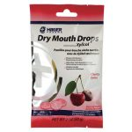 Hager Pharma Dry Mouth Drops Cherry 26 ct