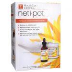 Himalayan Chandra Neti Pot Porcelain Sinus Cleansing System 1 Kit Respiratory Health