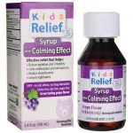 Homeolab USA Kids Relief Syrup With Calming Effect – Grape Flavor 3.4 fl oz Liquid Children's Health