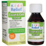 Homeolab USA Kids Relief Cough & Cold Syrup 3.4 fl oz Liquid Cold and Flu