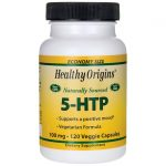Healthy Origins Naturally Sourced 5-Htp 100 mg 120 Veg Caps Stress and Mood
