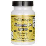 Healthy Origins Vitamin D3 2,000 Iu 120 Soft Gels Bone Health