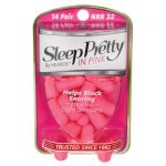 Hearos Sleep Pretty in Pink 14 ct Hearing and Ear Health