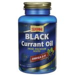 Health From The Sun Black Currant Oil 60 Soft Gels Essential Fatty Acids