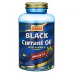 Health From The Sun Black Currant Oil 500 mg 180 Soft Gels Essential Fatty Acids