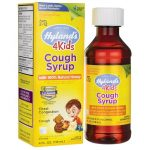 Hyland's Cough Syrup with 100% Natural Honey 4 Kids 4 fl oz Liquid Cold and Flu