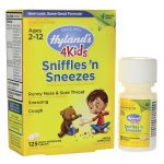 Hyland's Sniffles'N Sneezes 4Kids 125 Tabs Cold and Flu