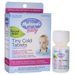 Hyland's Baby Tiny Cold Tablets 125 Tabs Cold and Flu