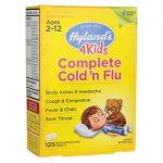 Hyland's Complete Cold 'n Flu 4Kids 125 Tabs Children's Health