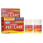 Hyland's Complete Flu Care Value Pack 120 Tabs Cold and Flu
