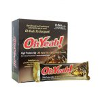 ISS Research Ohyeah! Protein Bar – Chocolate & Caramel 26 Grams 12/3 oz Bars