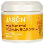 Jason Natural Vitamin E Age Renewal Moisturizing Crème 25,000 Iu 4 oz Cream Skin Care
