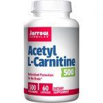 Jarrow Formulas, Inc. Acetyl L-Carnitine 500 mg 60 Caps Anti-Aging