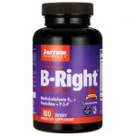 Jarrow Formulas, Inc. B-Right Optimized B-Complex 100 Veg Caps B Vitamins