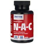 Jarrow Formulas, Inc. Nac (N-Acetyl-L-Cysteine) 500 mg 100 Caps Amino Acids