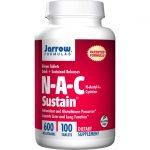 Jarrow Formulas, Inc. Nac Sustain 600 mg 100 Tabs Amino Acids