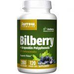 Jarrow Formulas, Inc. Bilberry & Grapeskin Polyphenols 120 Veg Caps Vision Health