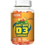 Jarrow Formulas, Inc. Yum D3 Gummies 400 Iu 90 Gummies Bone Health