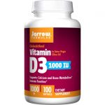 Jarrow Formulas, Inc. Vitamin D3 1,000 Iu 100 Soft Gels Bone Health