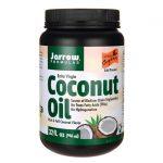 Jarrow Formulas, Inc. Extra Virgin Coconut Oil 32 fl oz Solid Oil Essential Fatty Acids
