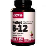 Jarrow Formulas, Inc. Methyl B-12 500 mcg 100 Lozenges B Vitamins
