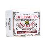 J.R. Liggett's Old-Fashioned Bar Shampoo Jojoba & Peppermint 3.5 oz Bars
