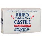 Kirk's Original Coco Castile Soap 4 oz Bars