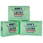 Kirk's Original Coco Castile Soap with Aloe Vera 3 / 4 oz Bars