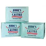 Kirk's Original Coco Castile Soap – Fragrance Free 3 / 4 oz Bars