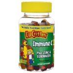 L'il Critters Immune C Plus Zinc & Echinacea 60 Gummies Immune Support Children's Health