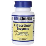 Life Extension Extraordinary Enzymes 60 Caps Digestive Health and Fiber