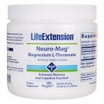 Life Extension Neuro-Mag Magnesium L-Threonate – Tropical Punch 3.293 oz Powder Bone Health
