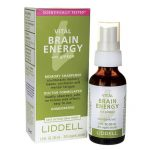 Liddell Laboratories Vital Brain Energy with Ginkgo 1 fl oz Liquid Memory and Brain Health