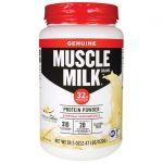 CytoSport Muscle Milk – Vanilla Creme 39.5 oz Powder Protein