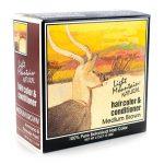 Light Mountain Natural Hair Color & Conditioner – Medium Brown 4 oz Box