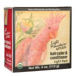 Light Mountain Hair Color & Conditioner – Red 1 Box