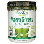 MacroLife Naturals Macro Greens Superfood 30 oz Powder
