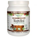 MacroLife Naturals Macro Meal Ultimate Superfood – Chocolate 3 Billion CFU 23.8 oz Powder
