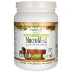 MacroLife Naturals Macro Meal Vegan Ultimate Superfood – Chocolate 20 Billion CFU 23.8 oz Powder