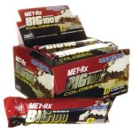 MET-Rx Big 100 Colossal Meal Replacement Bar Super Cookie Crunch 9/3.52 oz Bars Weight Loss