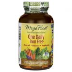 MegaFood One Daily Iron Free 90 Tabs Multivitamins