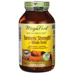 MegaFood Turmeric Strength for Whole Body 120 Tabs Joint Health