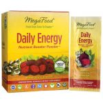 MegaFood Daily Energy Nutrient Booster Powder – Single Serve 30 Packets