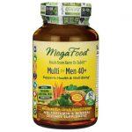 MegaFood Multi for Men 40+ 60 Tabs Multivitamins
