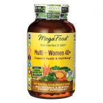 MegaFood Multi for Women 40+ 120 Tabs Multivitamins