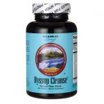 Maximum Living Hyssop Cleanse, New & Improved 240 Tabs Digestive Health and Fiber