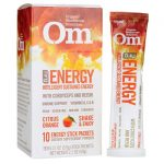 Organic Mushroom Nutrition Nrg Energy with Cordyceps and Reishi – Citrus Orange 10 Packets