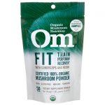 Organic Mushroom Nutrition Fit with Cordyceps and Reishi 3.57 oz Powder